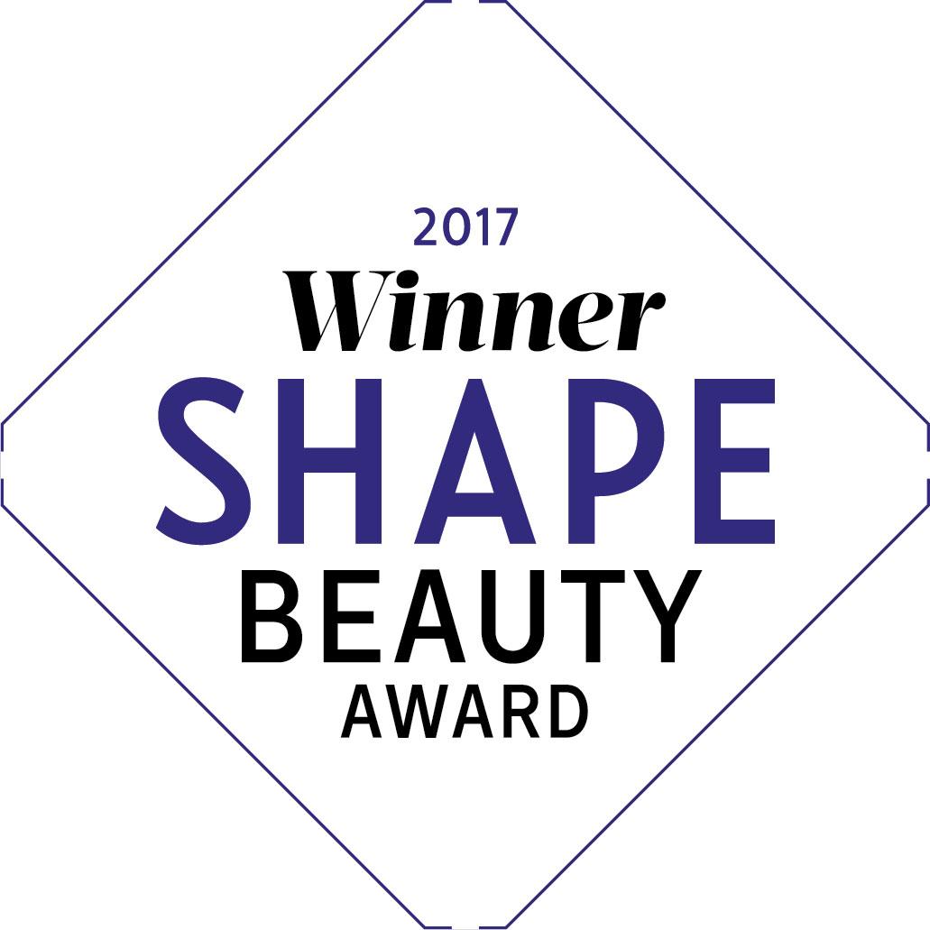 Shape Magazine Beauty Award Winner 2017