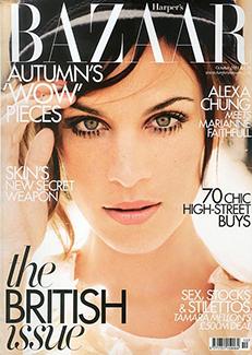 Harper's Bazaar, October 2011