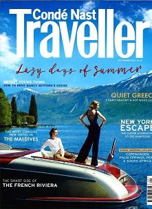 Conde Nast Traveller, August 2016