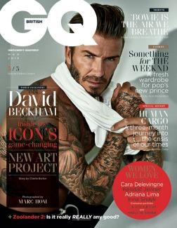 GQ Magazine, April 2016