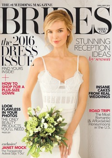 Brides Magazine, April 2016