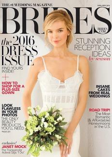 Brides Magazine, April 2016