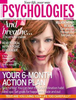 Psychologies, September 2015