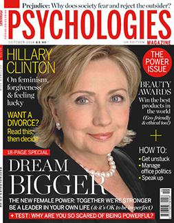 Psychologies, October 2014