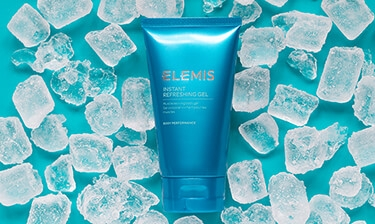 elemis instant refreshing body gel for men